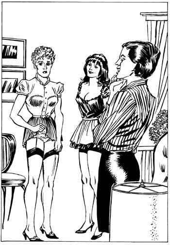 Art by Carole Jean Petticoat Punishment